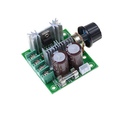 12V-40V 10A Pulse Width Modulator PWM DC Motor Speed Control Switch ControllerHP