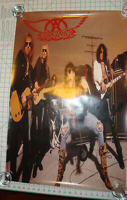 Aerosmith Rare Get a Grip double sided Promo poster 23x35
