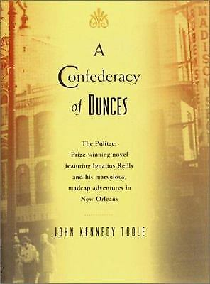 A Confederacy of Dunces  (NoDust) by Toole, John Kennedy