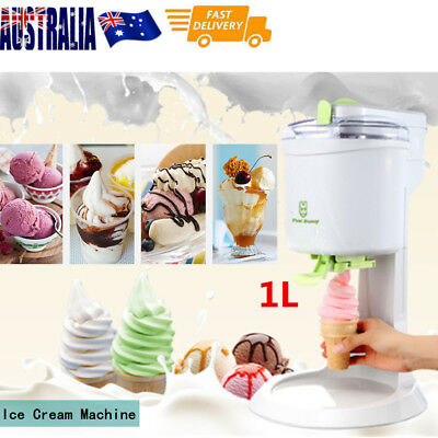 Automatic Ice Cream Cones Maker Machine For Kids Party  220V&1L