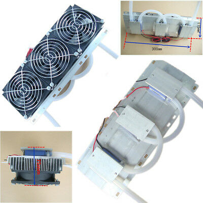 Semiconductor Refrigeration Radiator Thermoelectric 3 Cooling Fan Plate Module