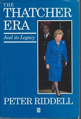 The Thatcher Era by RIDDELL Paperback Book The Cheap Fast Free Post