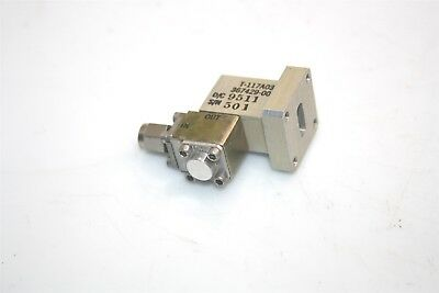 RF Microwave T-117A03 WR42 to SMA Male Waveguide Adapter + Isolator 18-26.5GHz