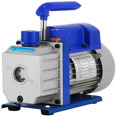 Refrigerant Vacuum Pump R410A R134A Rotary Vane NEW GENERATION RELIABLE SELLER