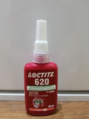 LOCTITE 620  Retaining Compound - high strength. High temperature resistance.