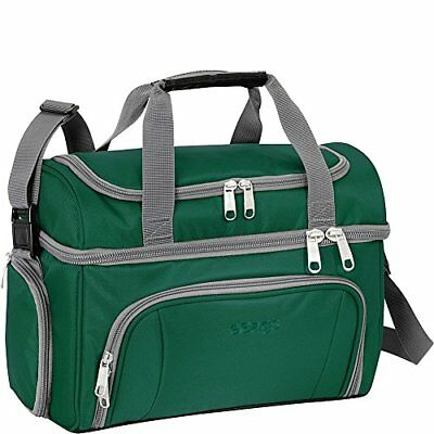 """eBags Crew Cooler II ,Travel Cooler, Top """"Dry"""" Compartment, Bottom """"Cold"""" Compar"""