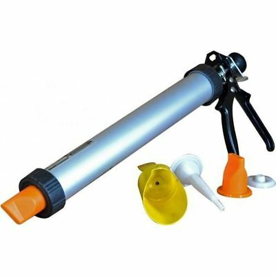 New Professional Mortar And Grounting Gun Set For Brick Pointing Tile Cement Diy