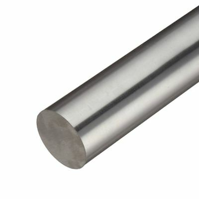 304 Stainless Steel Round Rod, Diameter: 0.500 (1/2 inch), Length: 36 inches