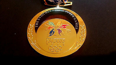 MEDAL NAGANO 1998 - SET Olympic MEDALS bronze silver gold