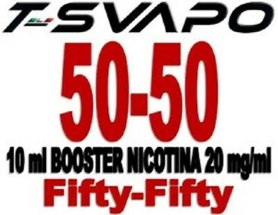 T-svapo Base Booster 10 ml 30/70 Nic 15 - 55/35/10 Nic 20 - 50/50 Nic 20 mg/ml