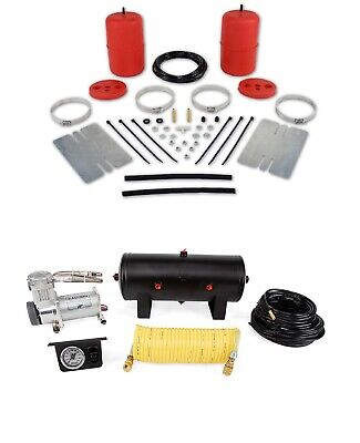 Air Lift Control Air Spring & Single Path Compressor Kit for Jeep Wrangler