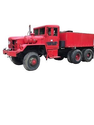 1972 AM General M54A-1C 6x6 5 ton With Water Tank - Runs Great