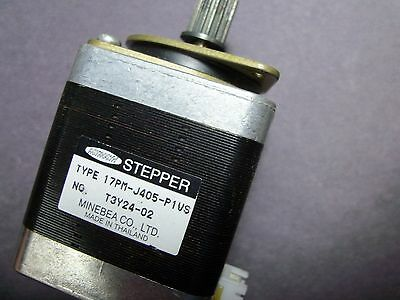 Minebea Astrosyn 17PM-J405-P1VS #T3Y24-02 stepper motor 6-pin connector