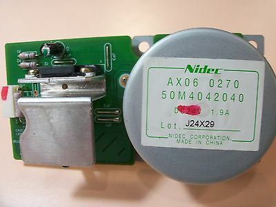 NIDEC DC24V 1.9A MOTOR (50M4042040) for printers (7-pin connector) AX06 0270