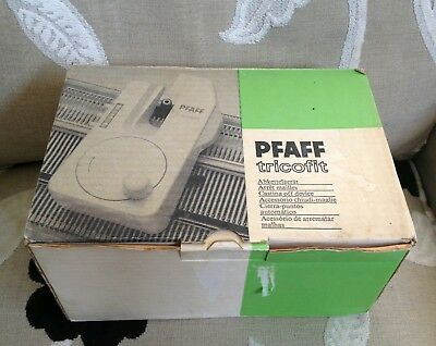 Passap / Pfaff Tricofit complete in box for passap / pfaff knitting machine