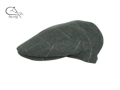 c3d714e0a JACK PYKE WOOL Blend Flat Cap Tweed Shooting Hats FREE DELIVERY ...