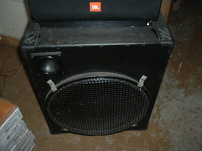 Pair of ROLLING PA SPEAKERS  For Bar or Band  See photos  PICKUP ONLY