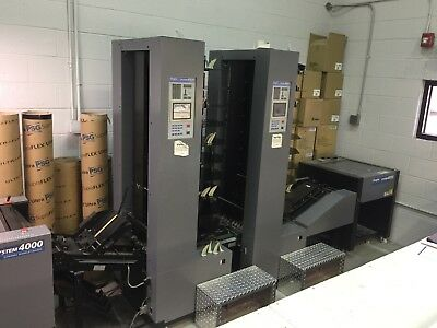 Duplo  4000 Twin Tower Collator Bookletmaker System Compare To Duplo 5000