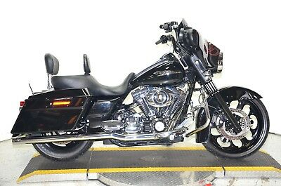 2008 Harley-Davidson Touring  2008 Blacked Out Customized Harley Davidson Street Glide FLHX Many Extras 17k!