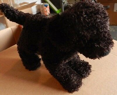 DOUGLAS CUDDLE TOY Plush Black Dog Puppy Mini 6""