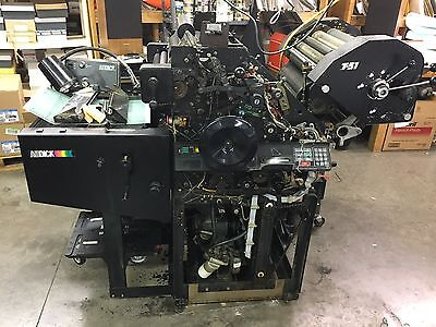 Ab Dick 9870 Offset Press and AB Dick 1200 Envelope Feeder And Conveyor