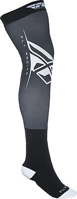 Fly Racing Black/White Knee Brace Motocross/MX Stretch Riding Socks Choose Size