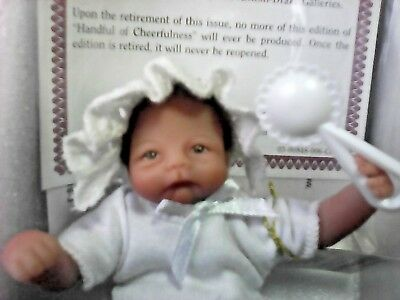 """handful Of Cheerfulness"" Ashton-Drake  So Truly Real 5"" Reborn Baby Doll"