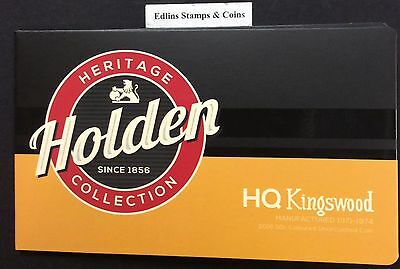 2016 RAM 50 cent UNC Coin Holden heritage collection - HQ Kingswood