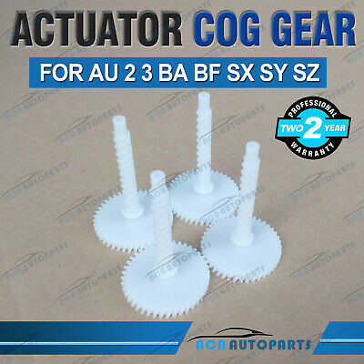 4X Door Lock Actuator Cog Gear for Ford Falcon BA BF AU Territory 2 3 Protege