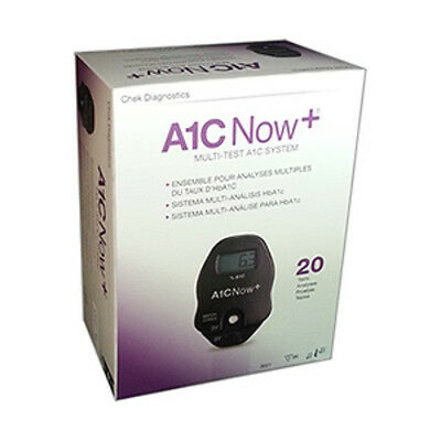 NEW A1C NOW+ 20 TEST KIT CHEK DIAGNOSTICS #3021 Exp in 12 months or Longer !