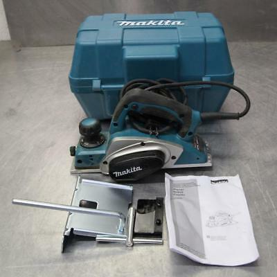 Makita KP0800 ELECTRIC WOOD Planer With Hard Case - NO RESERVE