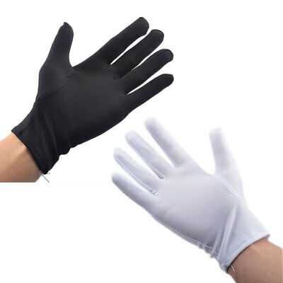 1 Pair White Cotton Gloves Wholesale Ceremonial Industrial Work Hand Protection