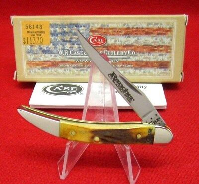 Case XX 510096 CV Rancher Genuine Stag 2012 Tiny Toothpick Mint Knife #58148