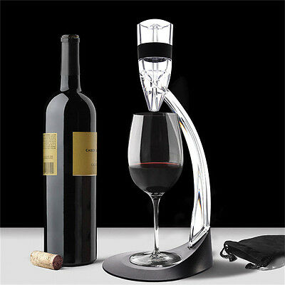 Good Device Magic Decanter RED Wine Aerator Sediment Filter Deluxe Set Gift Box