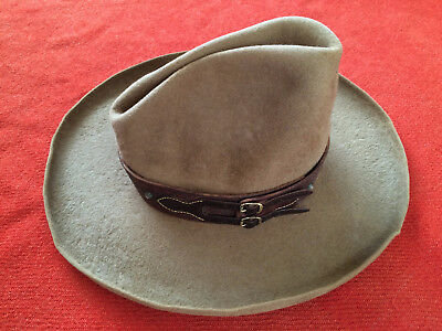"Contemporary Original Tooled Leather & Silver Hat Band ""A Wild Bill Original"""