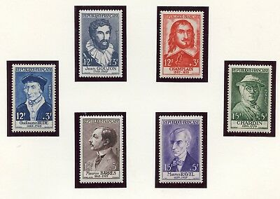 Stamp / Timbre  France Neuf Lot De 8 Series Celebrites Cote ++ 168 €