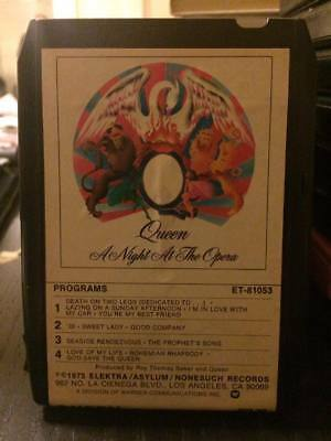 Queen ~ A Night At The Opera ~`1975 8-Track Tape (Freddie Mercury)~ CLEAN COPY!!