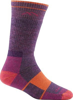 Darn Tough Women's Hiker Boot Sock Full Cushion Plum Heather Small