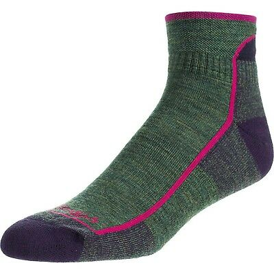 Darn Tough Vermont Women's 1/4 Cushion Hiking Socks Moss Heather