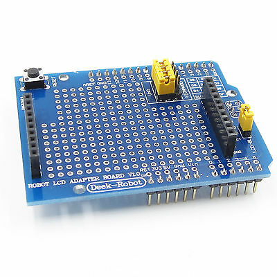 "TFT LCD Shiled Adapter Board For Esplora 1.8"" inch TFT Display Arduino new"