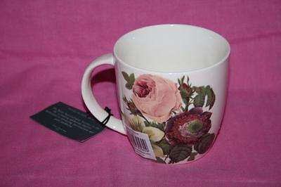 Queens By Churchill Royal Horticultural Society P J Redoute Rose Mug - New