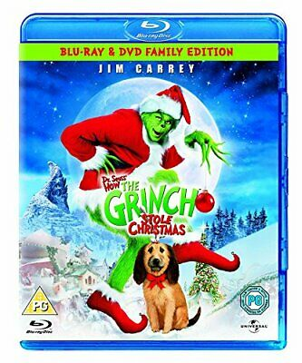 The Grinch [Blu-ray][Region Free] - DVD  5SVG The Cheap Fast Free Post