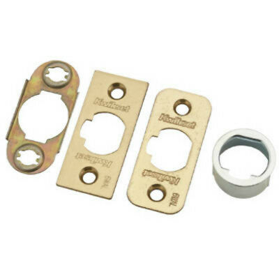 Kwikset 1844-18 6-Way Deadlatch Parts Kit, Polished Brass