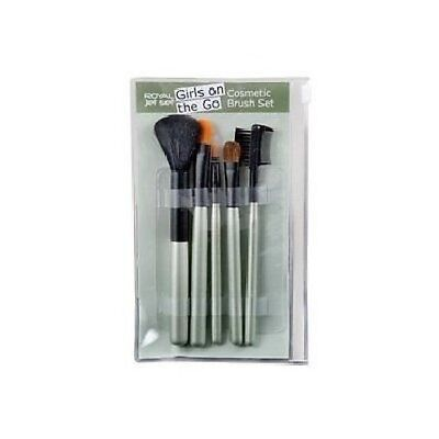 Royal Jet Set Girls On The Go Cosmetic Brush Set Green
