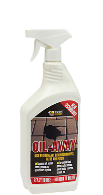Everbuild Oil - Away Clear 1 Litre Clean Path Patio Drive Remove Oil Grease 1L
