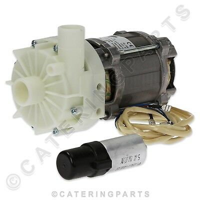 WINTERHALTER 3102444 INTERNAL RINSE BOOSTER PUMP DISHWASHER 28mm IN 26mm OUT