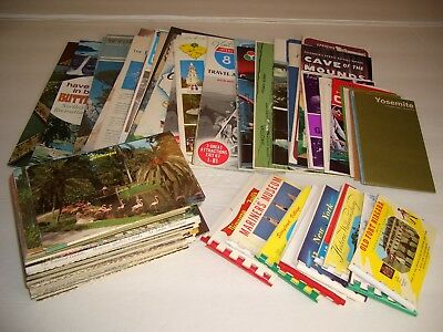 vintage Postcard Travel Brochure Souvenir Collection LOT