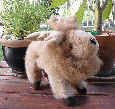 Brand New Made by our Artisan in Peru South America Baby Alpaca Fur Moose 110101