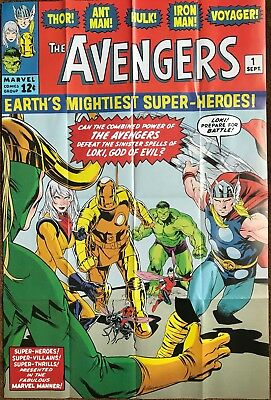 AVENGERS #675 LAUNCH PARTY DOUBLE-SIDED POSTER 3 FEET by 2 FEET SHIPS FOLDED 8th