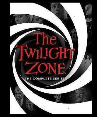 Twilight Zone: The Complete Series season 1 2 3 4 5 (DVD, 2016, 25-Disc Set)